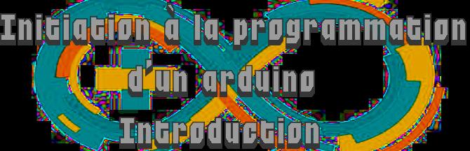 Intro à la programmation d'un arduino