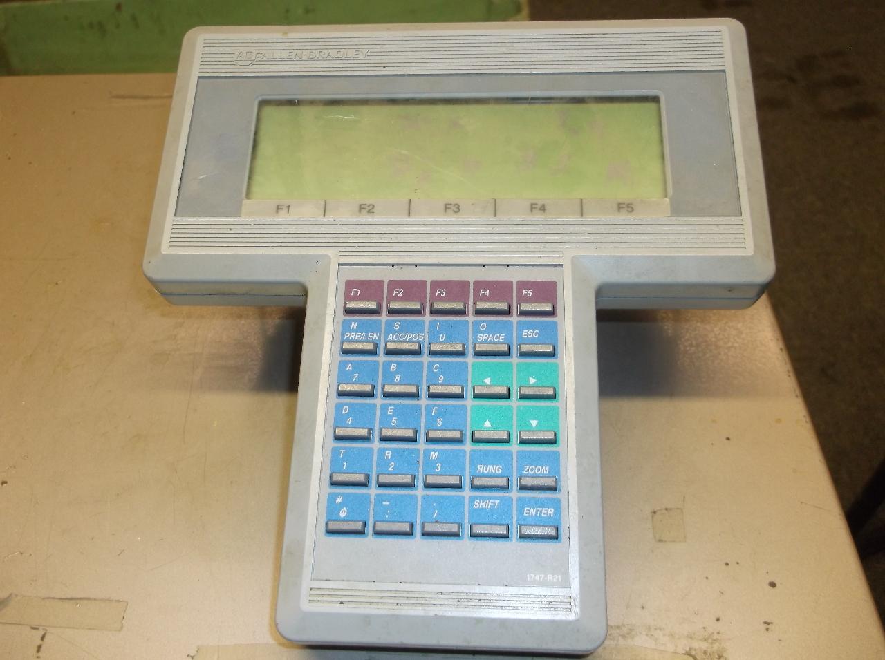Console de programmation Allen-Bradley