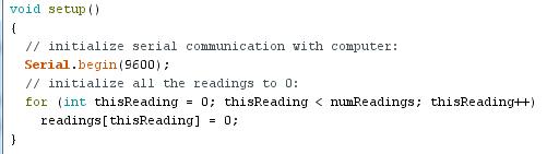 exemple arduino: smoothing 02