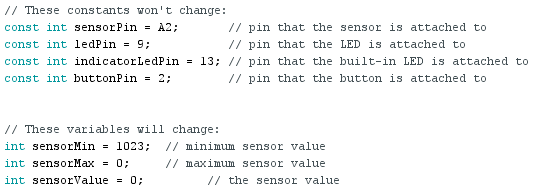 exemple arduino: While Statement Conditional 01