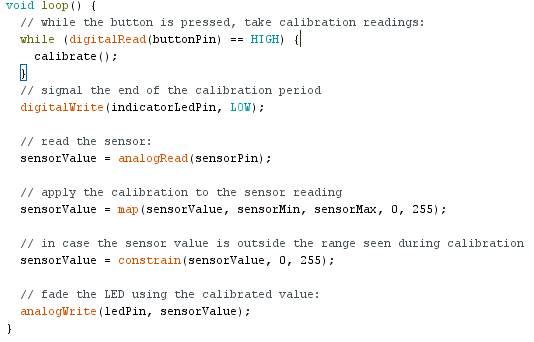 exemple arduino While Statement Condition loop